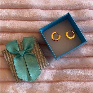 Gold platted earrings